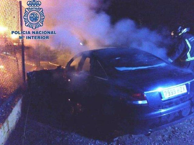 Condenado en Ceuta por la muerte y quema en un coche de un hombre cuyas inductor