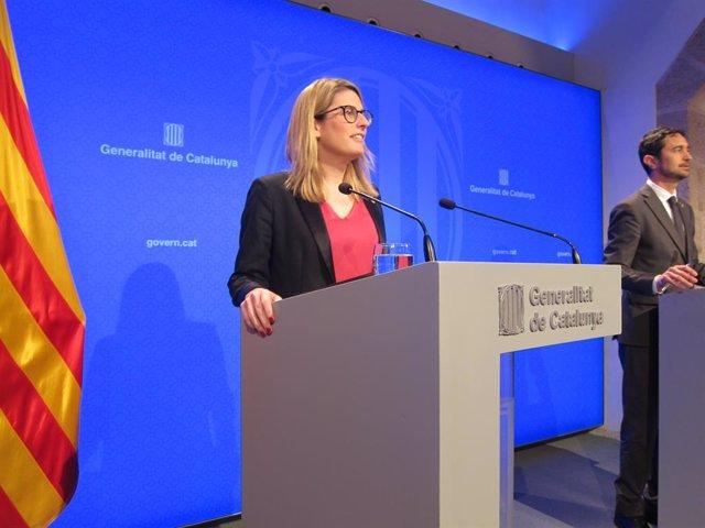 Artadi manté la incògnita sobre si deixarà el Govern per ser candidata a Barcelo