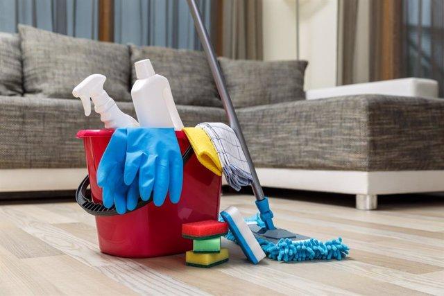 Los productos de limpieza pueden provocar una cran intoxicación en niños.
