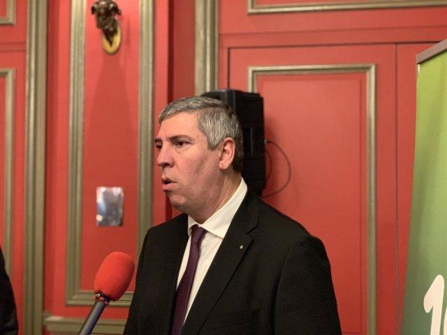 José Vicente de los Mozos, presidente de Anfac