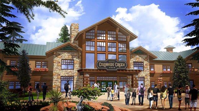 PortaAventura tindrà un sisè hotel, l'Hotel Colorit Creek