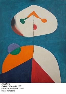 El Museo Reina Sofía de Madrid finaliza la restauración de una obra de Miró, ini