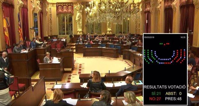 El Parlament rebutja la PNL del PP sobre el Pla Hidrològic