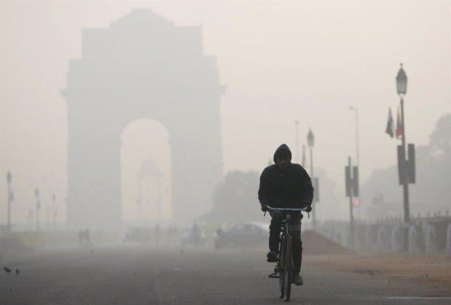 India.- Nueva Delhi es la capital más contaminada del mundo, según un estudio