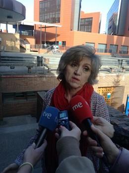 La ministra de Sanidad, María Luisa Carcedo.