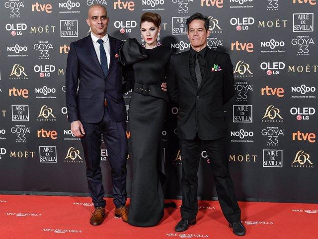 Jorge Sanz reaparece en los Goya y es expulsado antes del comienzo de la gala