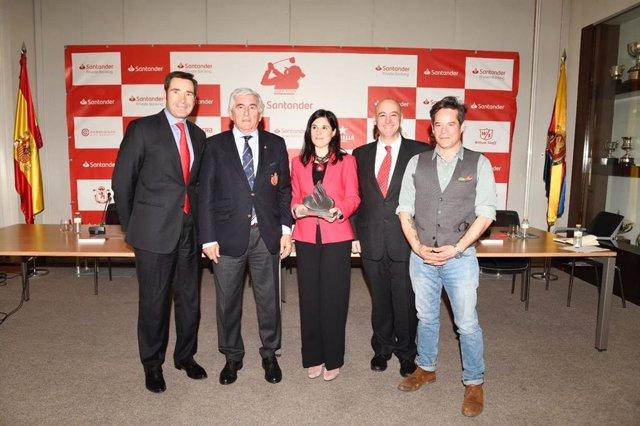 Presentación Santander Golf Tour 2019