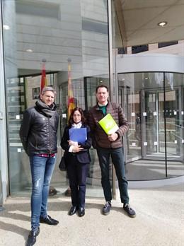 VOX porta a la Fiscalia l'aparició a Lleida de ninots penjats amb cares de