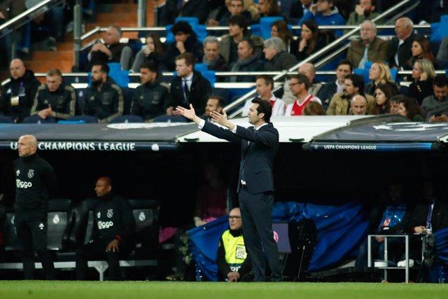 Soccer: Champions League - Real Madrid v Ajax