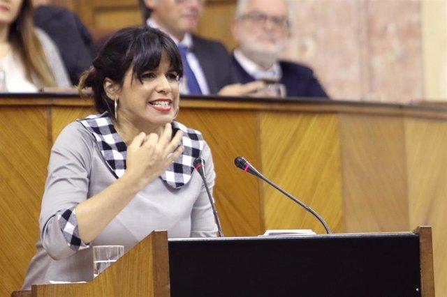 Inicio de la segunda jornada del debate de investidura de Juanma Moreno (PP-A) c