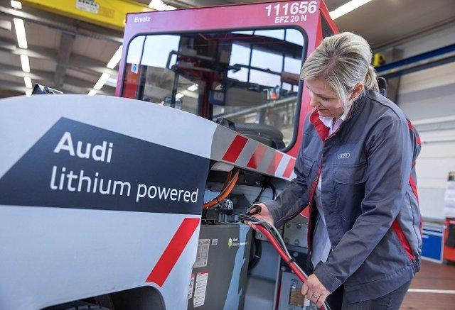 Economía/Motor.- Audi instala baterías usadas de iones de litio en sus vehículos