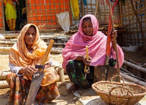 8M.- Más Del 80% De Los Exiliados Rohinyas Son Mujeres Y Niñas, Según Las ONG