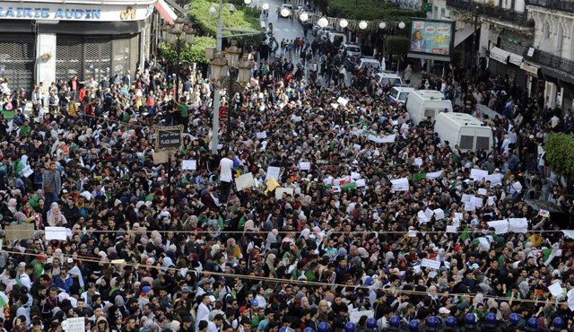 Students protests in Algiers