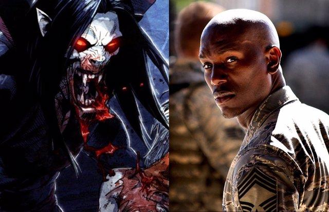 Primera foto de Jared Leto como Morbius, que ficha a Tyrese Gibson