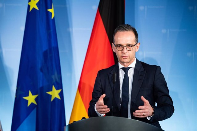 Danish Minister of Foreign Affairs in Berlin