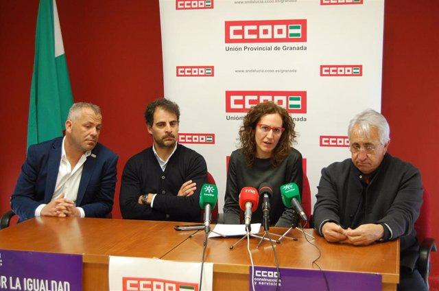 """8M.- CCOO-A No Ve Lógico Que Partidos Reaccionen Con Feminismos """"Anaranjado"""" O """""""