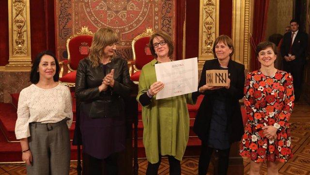 La Asociación Colectivo Alaiz recibe el Premio Berdinna 2019 a la igualdad entre