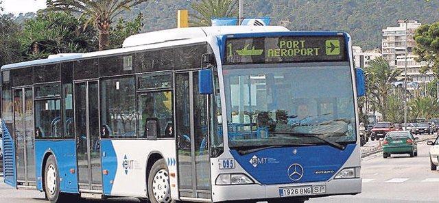 Bus aeropuerto EMT Palma