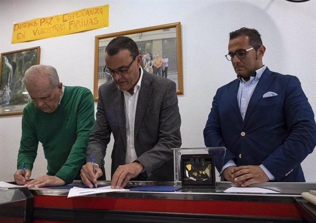 Huelva.- La Diputación y Resurgir renuevan su colaboración que benefició a unas