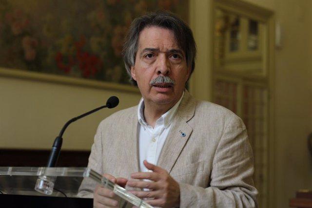 El portaveu parlamentari de Cs, Xavier Pericay
