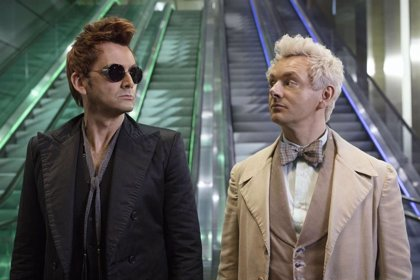 Un ángel y un demonio intentan frenar el Apocalipsis en el tráiler de 'Good Omens'