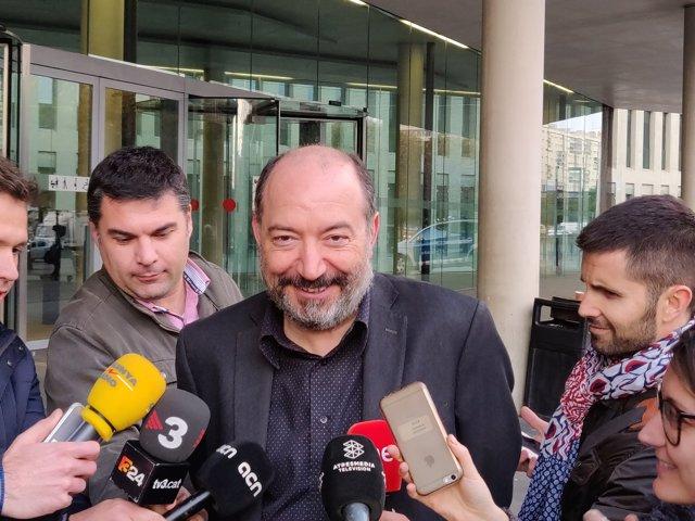 """Sanchis (TV3) declara ante la juez que """"no hubo desobediencia"""" al emitir anuncio"""