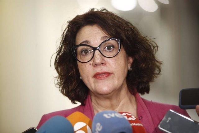 """La diputada del PSOE, Soraya Rodriguez, es mostra en contra de la figura del """"r"""