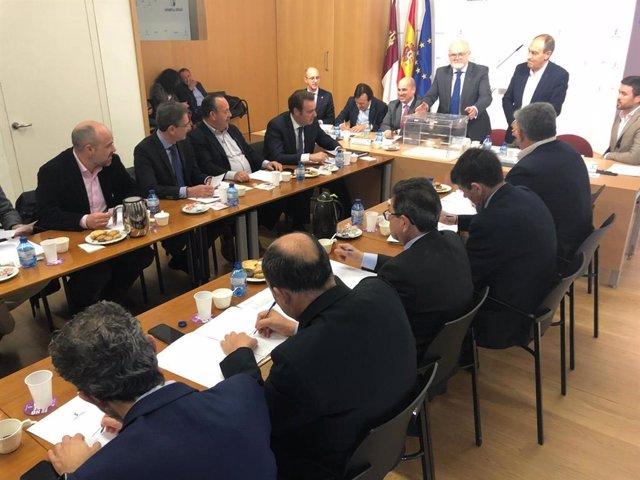 Juan Martínez asume la Presidencia de la Cámara de Albacete con el objetivo de i