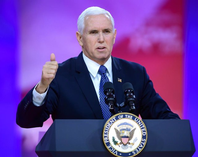 Mike Pence speaks at CPAC