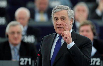 Tajani invita a Guaidó a la Eurocámara