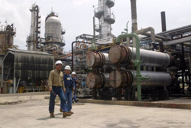 Refinería Ecopetrol en Colombia