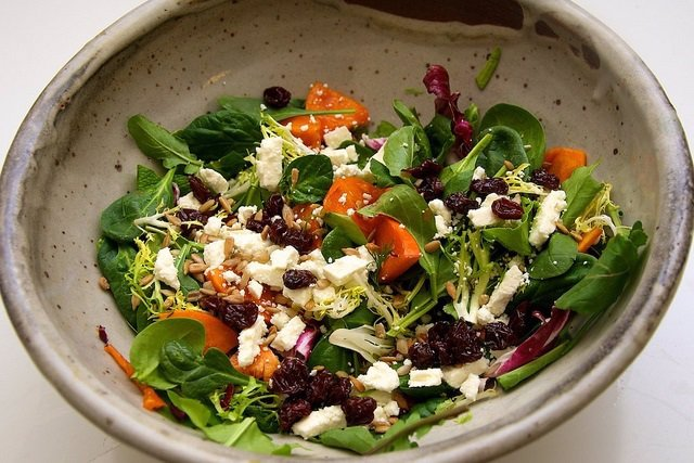 Ensalada, dieta mediterranea
