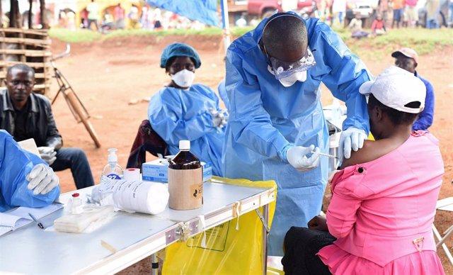 Vacunación contra el ébola en RDC