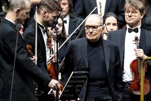 Ennio Morricone\'s Farewell Tour concert in Berlin