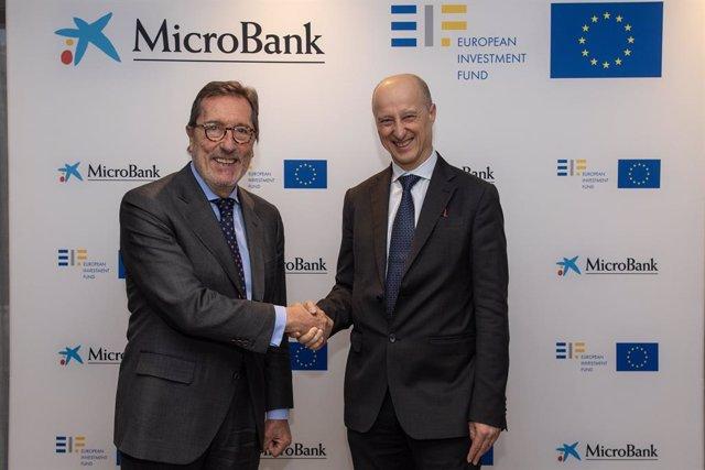 MicroBank i el Fons Europeu d'Inversions (FEI) acorden un pla d'inversió