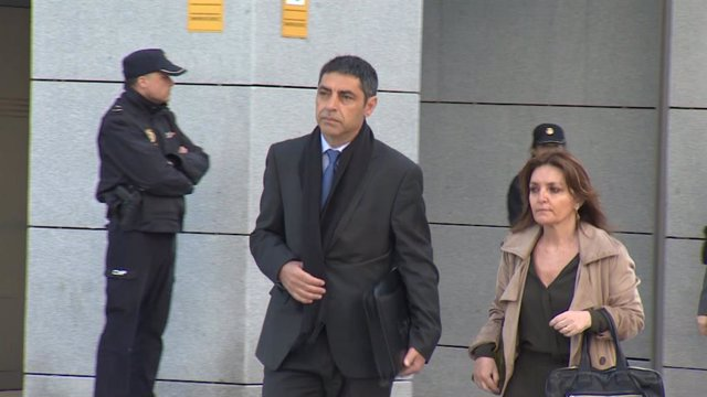 Trapero acude a la Audiencia Nacional