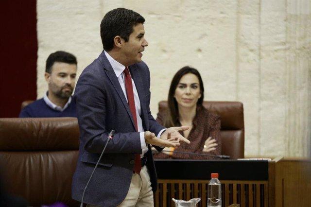 """Cs critica las """"baratijas"""" de la gestión sanitaria del PSOE-A mientras """"presumía"""