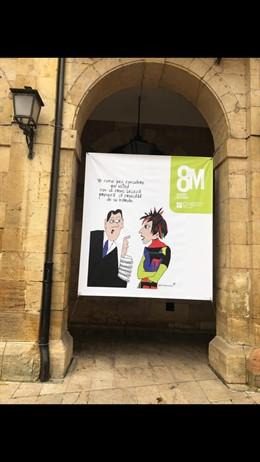 8M.- Asociaciones De Jueces Rechazan Que Desde El Ayuntamiento De Oviedo Se Desp