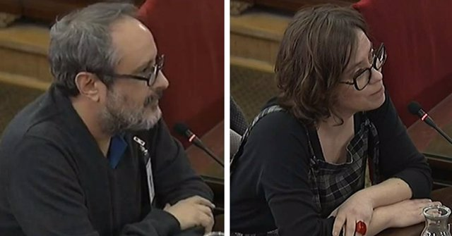Antonio Baños i Eulalia Reguant declaren com testimonis en el Suprem pel juic
