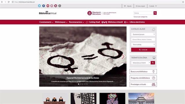 8M.- La Biblioteca Virtual De La Red Barcelonesa Ofrece Un Especial Temático