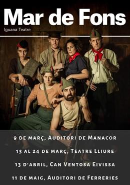 El IEB colabora con las representaciones teatrales de 'Mar de fons', de Iguana T