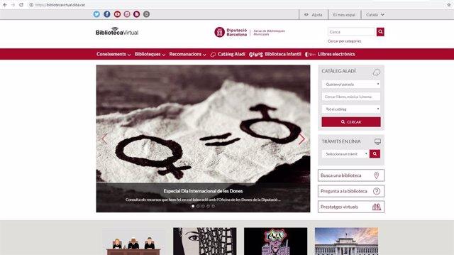 8M.- La Biblioteca Virtual De la Xarxa Barcelonina Ofereix Un Especial Temtic