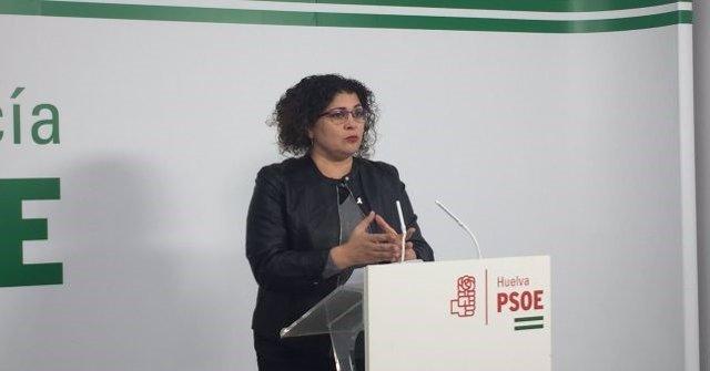 La secretaria de Igualdad del PSOE de Huelva, Eva Salazar.
