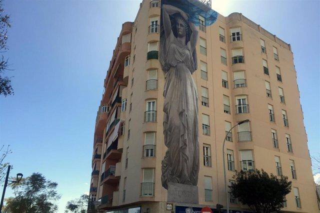 Málaga.- El Ayuntamiento de Estepona homenajea a la mujer en la nueva obra que s