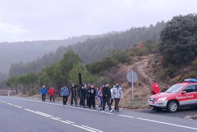 Policía Municipal de Pamplona señalizará la salida de la ciudad para las Javiera