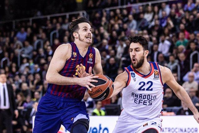 Basket: EuroLeague - FC Barcelona Lassa v Anadolu Efes Istanbul