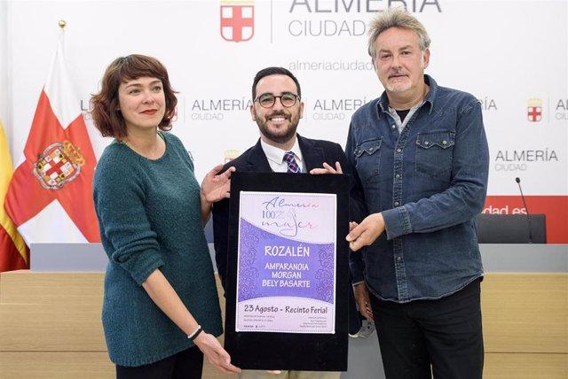 Almería.- Rozalén, Amparanoia, Morgan y Bely Basarte estrenarán en Feria el fest