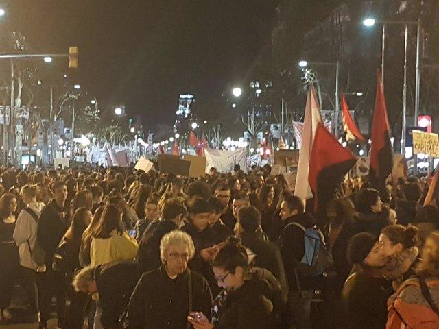 Manifestación 8M Barcelona