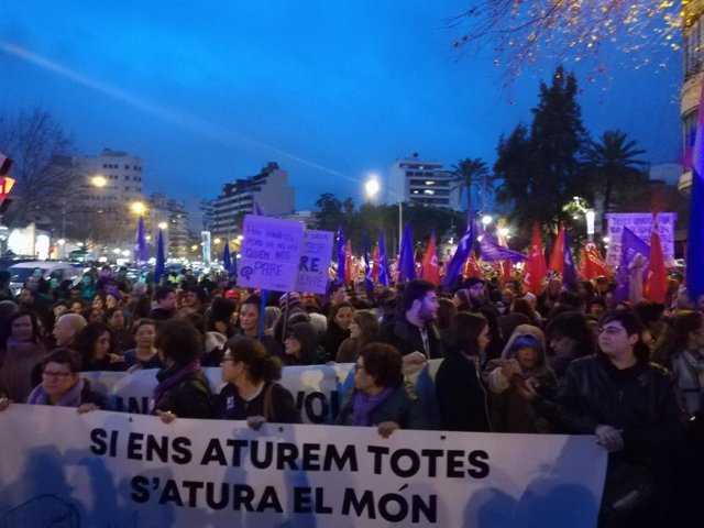 8M.- La Manifestació Unitària Del 8M Des de Plaza Espanya, Acte Central Pel Dí
