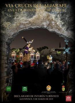 Sevilla.- Itálica acoge el sábado el XXIX Vía Crucis del Aljarafe con 13 hermand